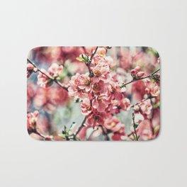 Pink Spring Bath Mat
