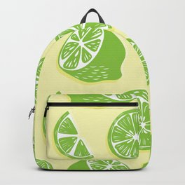 Lime pattern 04 Backpack