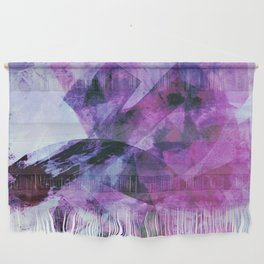Precipice in Purple II Wall Hanging