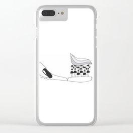 LoveBrush Clear iPhone Case