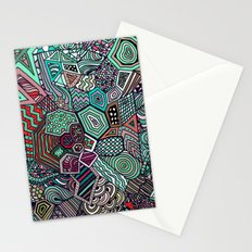 Jolly Geometric Stationery Cards