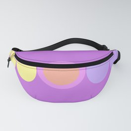 Circles to elipse Fanny Pack