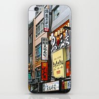 tokyo iPhone & iPod Skins featuring Tokyo by dora-isa