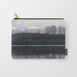 A lake in the mountains Carry-All Pouch