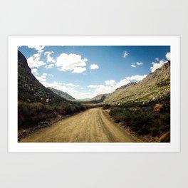 Adventure's highway Art Print