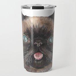 Der the Cat - artist Ellie Hoult Travel Mug