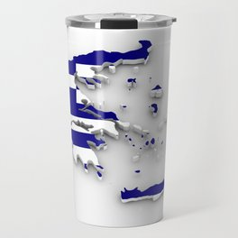 GREECE LOVE Travel Mug