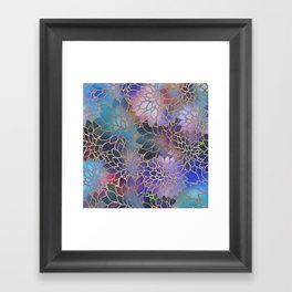 Floral Abstract 5 Framed Art Print