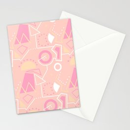 Graze Maze Peach Stationery Cards