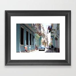 VIVA CUBA Framed Art Print