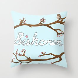 Bishounen Throw Pillow