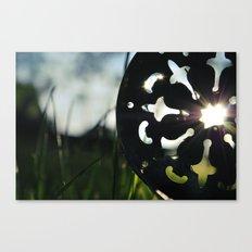 Tea Light Canvas Print
