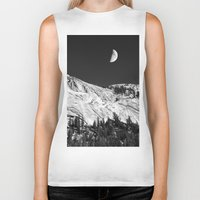 yosemite Biker Tanks featuring Yosemite by Claude Gariepy