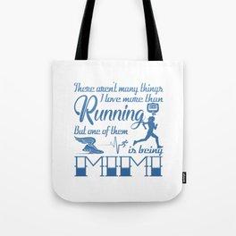 Running Mimi Tote Bag
