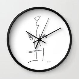 Demeter Moji d25 3-1 w Wall Clock