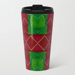 Orchid Landscape with hearts Travel Mug