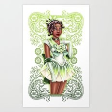 Sailor Tiana Art Print