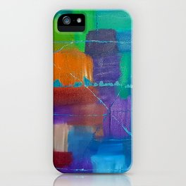 Acrylic Painting iPhone Case