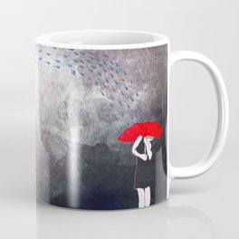 An Elephant Stormy Night Coffee Mug