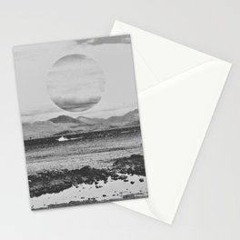 Gray Waterside Stationery Cards