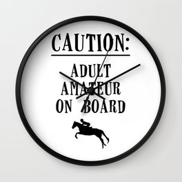 Adult Amateur Wall Clock