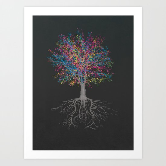 It Grows on Trees - Technicolor Art Print