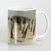 tool Mugs featuring Jewel tool by Tamar Isaak
