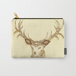 Tribal Deer Carry-All Pouch