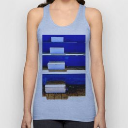 Going Up Unisex Tank Top