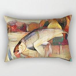 Bohemian Fish Rectangular Pillow
