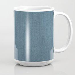 Blue Indigo Denim Coffee Mug