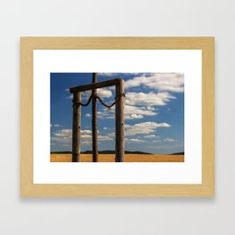 Unterwegs_16881 Framed Art Print