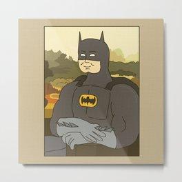 Bat Lisa Metal Print