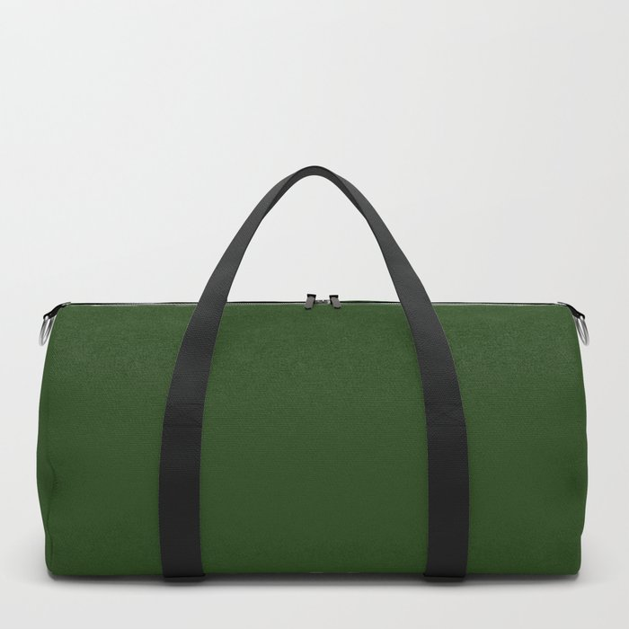 Solid Dark Forest Green Simple Solid Color All Over Print Sporttaschen