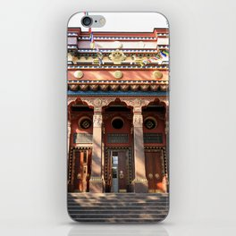 Main Entrance. Buddhist traditional sangha of Russia. iPhone Skin