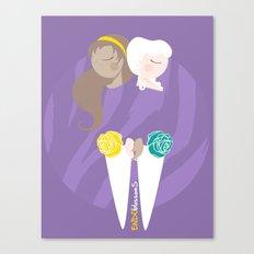 Teenage Endometriosis Awareness - Commissioned Work Canvas Print