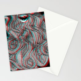 Pogonophobia Stationery Cards