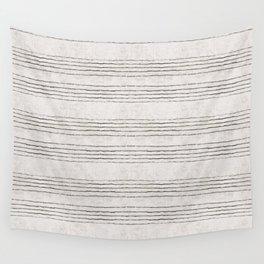 LINEN STRIPE RUSTIC Wall Tapestry