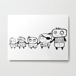 Kids Play Metal Print