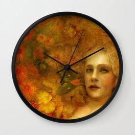 """Ofelita de Oro"" (From ""Death, Life, Hope"") Wall Clock"