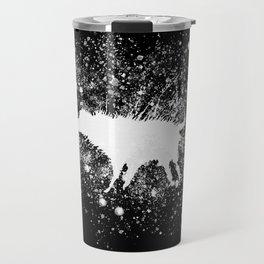 Banksy Dog Splash Paint Artwork Reproduction, Posters, Prints, Bags, Mugs, Postcards, Tshirts, Men, Travel Mug