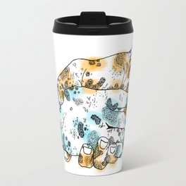 Microscopic Handshake Travel Mug