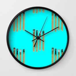 Chill Out Matches Wall Clock