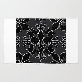 Fleur de lis pattern Rug