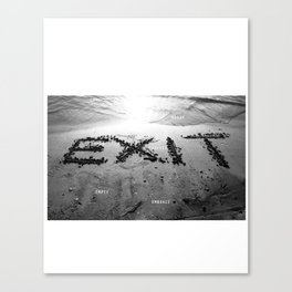 Exit Loss Canvas Print