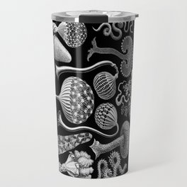 Slime Molds (Mycetozoa) by Ernst Haeckel Travel Mug