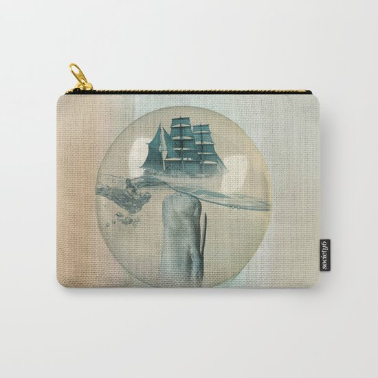 The Battle - Captain Ahab and Moby Dick Carry-All Pouch