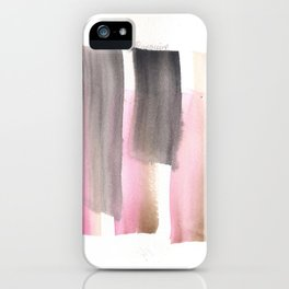 [161228] 28. Abstract Watercolour Color Study Watercolor Brush Stroke iPhone Case
