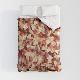 Gummy Cola Bottles Candy Photo Pattern Comforters