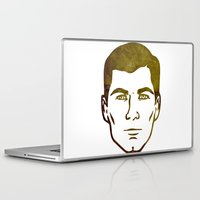 archer Laptop & iPad Skins featuring Archer by Spooky Dooky